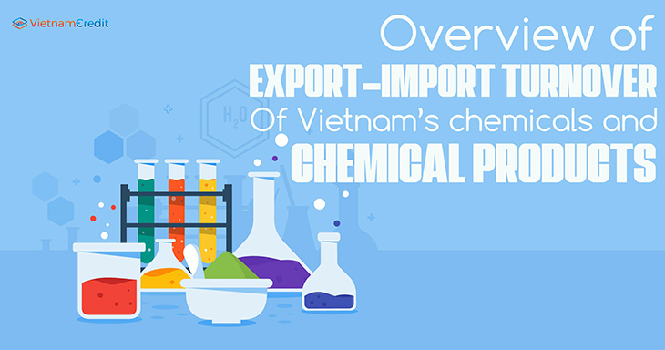 Overview of export-import turnover of Vietnam's chemicals and chemical products