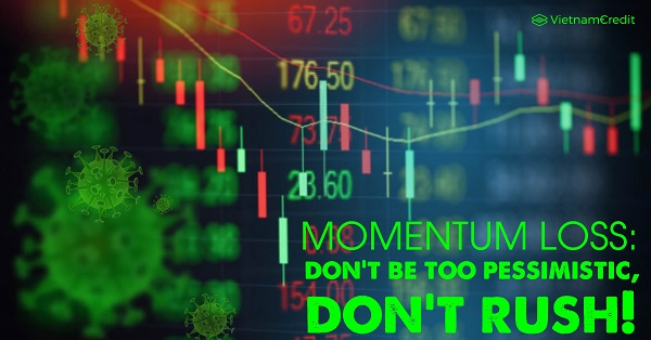 Momentum loss: don't be too pessimistic, don't rush!