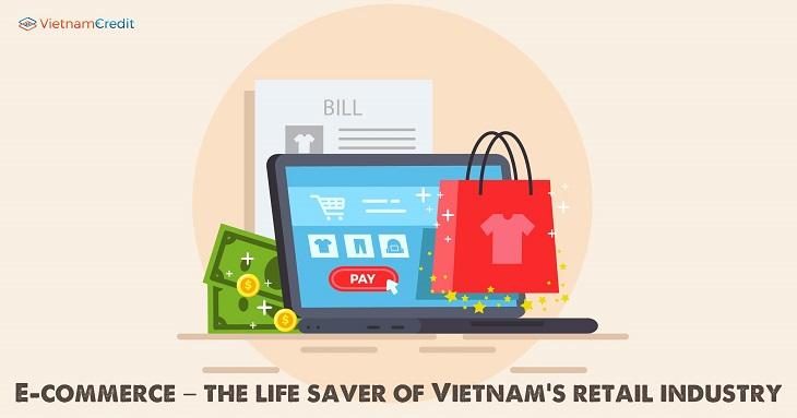 Thương mại điện tử - cứu cánh của ngành bán lẻ Việt Nam