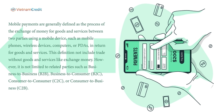 A definition of mobile payments and mobile money