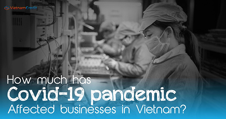 How much has Covid-19 pandemic affected businesses in Vietnam?